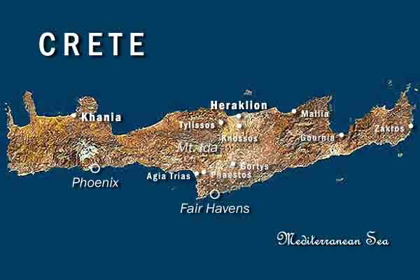 kreta karta Atlas from Space: Crete kreta karta