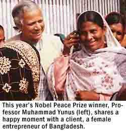 nobel prize yunus