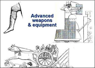 assyrian equipment