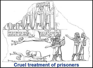 assyrian atrocities