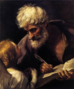 Source: File:Guido Reni - St Matthew and the Angel - WGA19308.jpg
