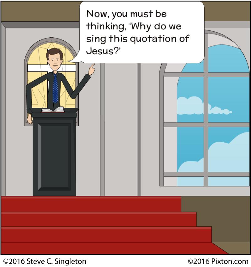 singing bible verses