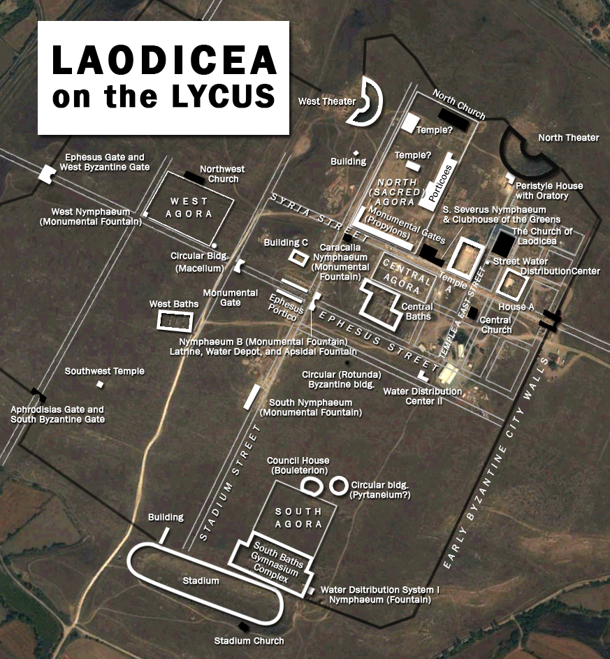 laodicea excavation 2015